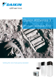 Daikin Altherma 3 product catalogue ECPEN18-786