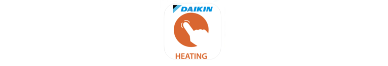 Daikin online controller heating app icon
